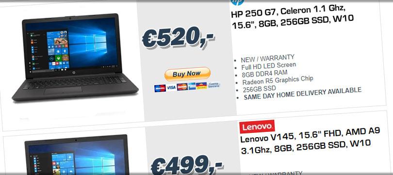 laptops albir benidorm